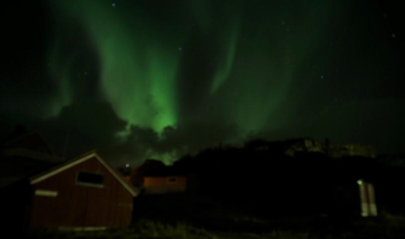 Luces del norte en Svolvaer