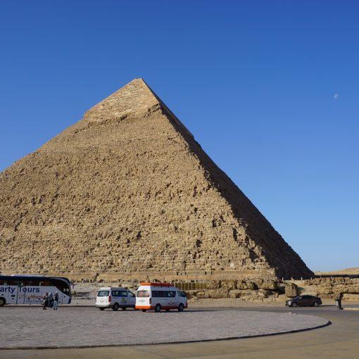 Pirámides de Giza con autobús turístico