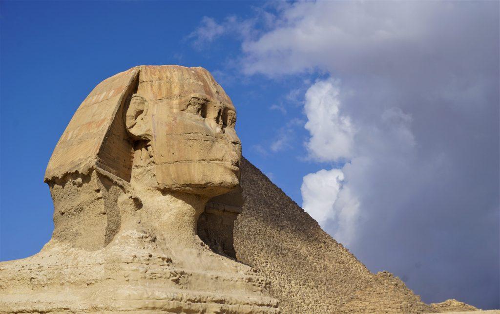 Busto de la Esfinge de Giza