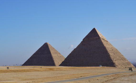 Pirámides de Keops y Kefrén