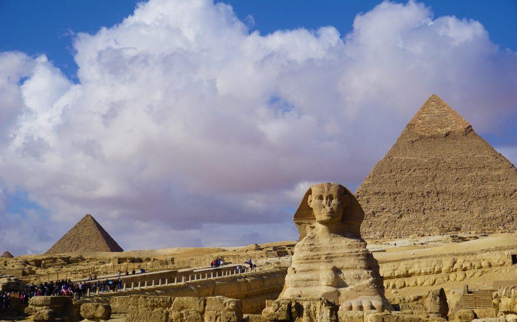 Pirámides de Giza y Esfinge