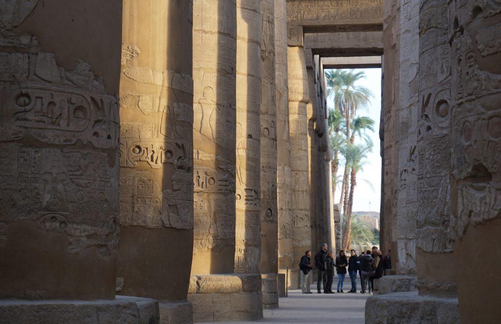 Templo de Karnak (Sala de columnas)