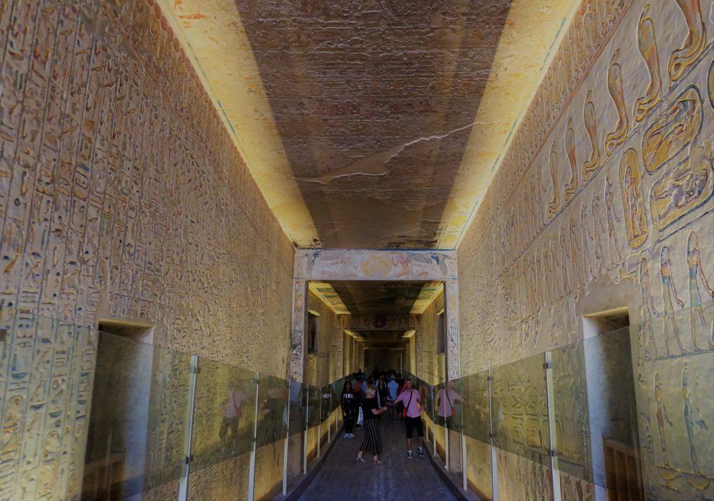 Valle de los Reyes - Tumba de Ramsés III