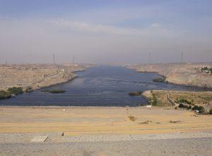 Presa de Aswan - Río Nilo
