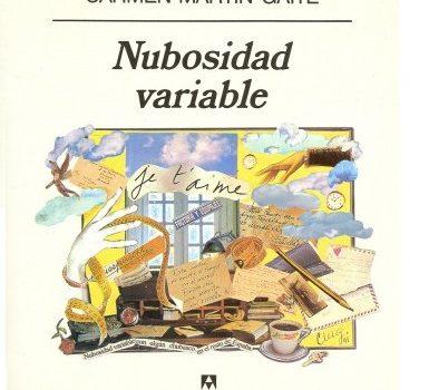 Reseña literaria Nubosidad variable