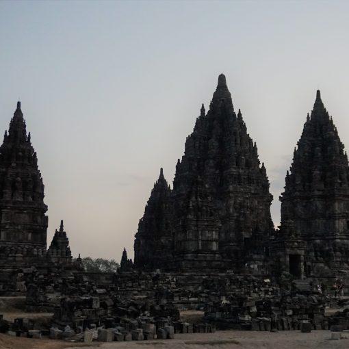 Templo de Prambanan en Java Central